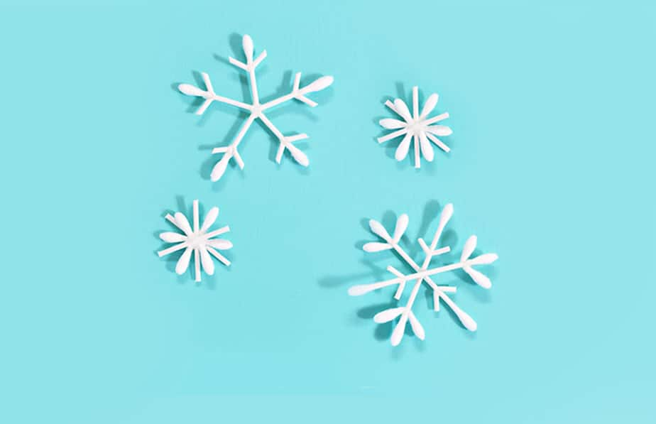 Craft A Sparkling Snowflake