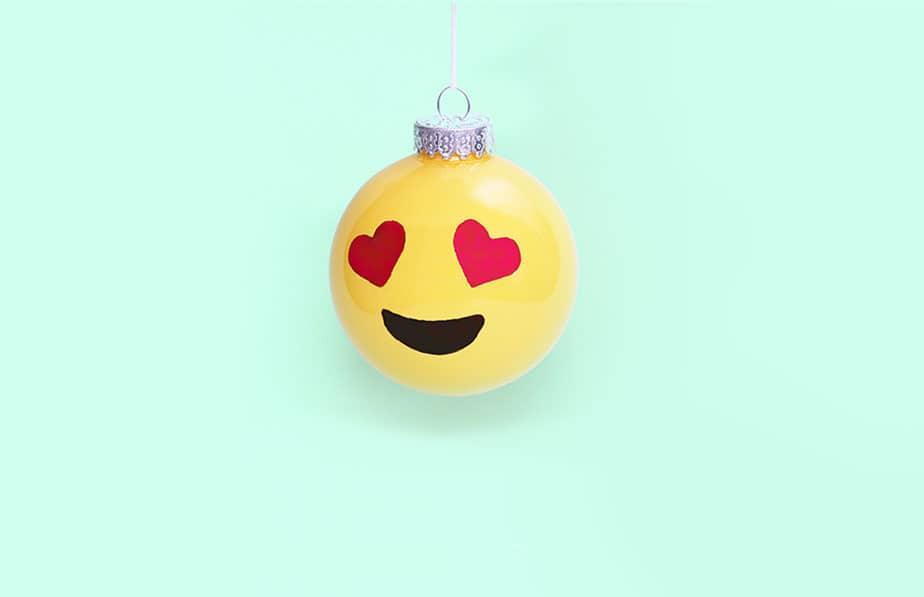 DIY Emoji Ornament