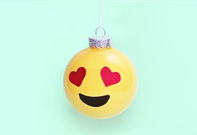 DIY Emoji Ornament4