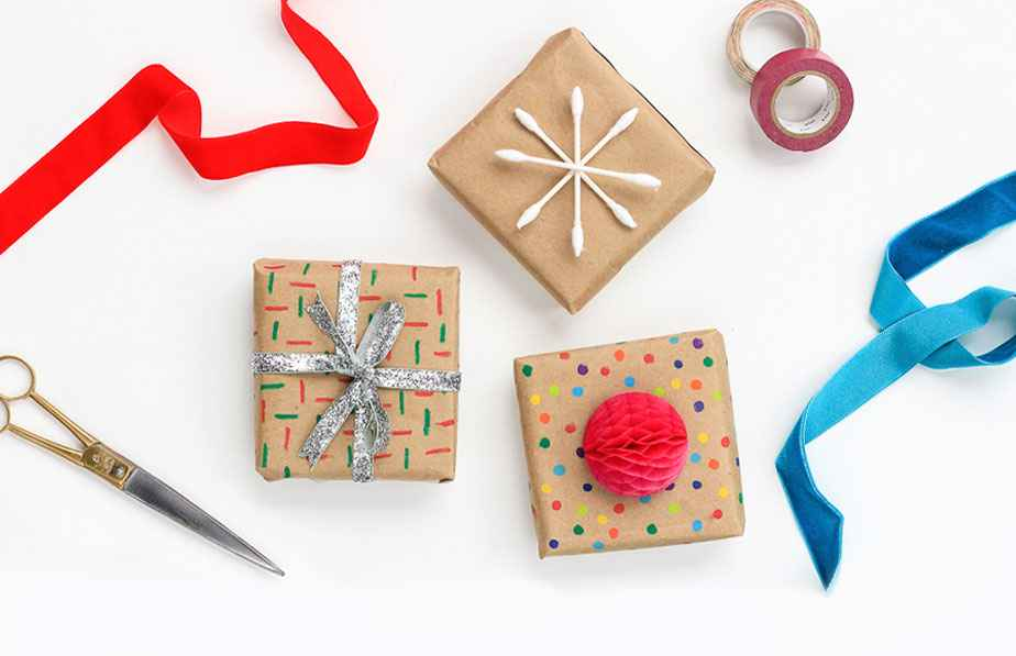 Create Custom Wrapping Paper