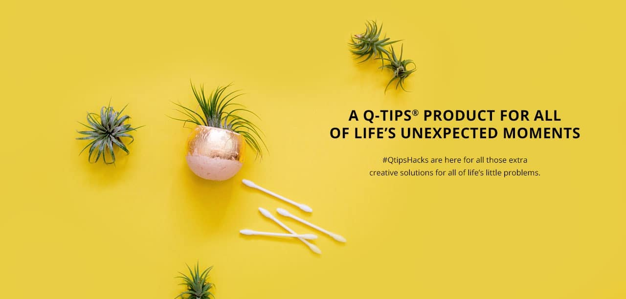 A Qtips Product for all of Life's Unexpected Moments
