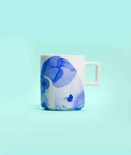 DIY Marbled Mug